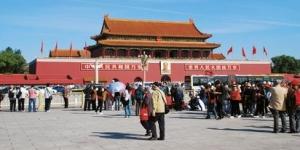 Der Tiananmen-Platz, Peking