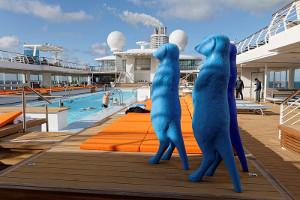 Pool-Deck - Aussenbereich - Mein Schiff 4
